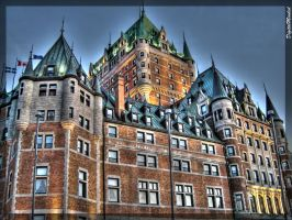 Chateau Frontenac by digitalminded