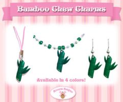 Bamboo Chew Charms by Mirelmture