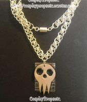 Soul Eater Silver Pendant by CosplayPropsEtc