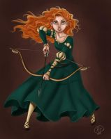 Merida_fanart by roby-boh