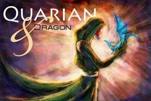 Quarian and Dragon by ANeDe