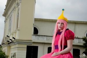 Princess Bubblegum - Adventure Time by GodsRevolver