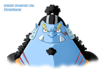 Day 6 - Jinbe by SergiART