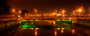 Sean Heuston Bridge,  Dublin by suolasPhotography