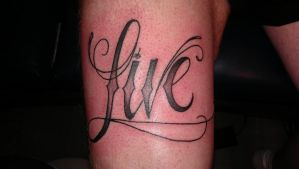 live by swetattoo