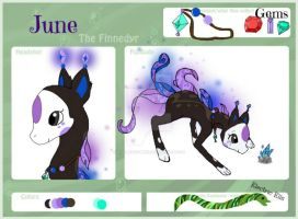 June - Finnedyr reffrence sheet by Kiwi-Berry-Bliss