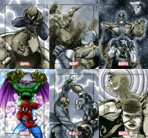 Marvel Heroes and Villains 14 by RichardCox