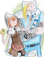 Adventure Time: reunion by hewhowalksdeath