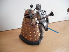 Custom Doomsday figure Dalek vs Cyberman 2 by Will1885