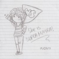 Super Mayra by PnJLover
