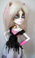 Monster High Custom Catrine Snow Shoe by AdeCiroDesigns