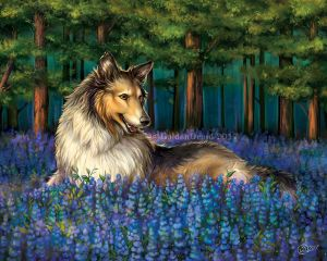Amongst The Bluebonnets by GoldenDruid