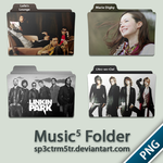 Music Folder 5 PNG by sp3ctrm5tr