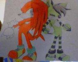 Geno an Knuckles by GENO211