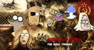 Regular Show The Real Thomas by Giannitoarlie