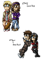 Chibi Doctor's With Companions by JoyKaiba