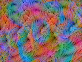 Knitted Rainbow by Thelma1