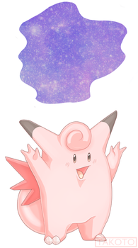 Cosmic Power Clefable by Takoto