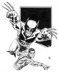 Wolverine and Colossus: Fastball Special by deankotz