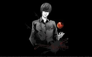 Yagami Light wallpaper by JoaoPauloSousa