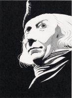 William Hartnell by BloodyHeartArt
