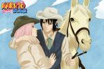 SasuSaku: Cowboys by Lesya7