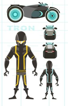 Tron Concepts by nbear015