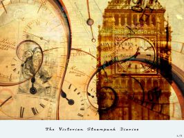 Victorian Steampunk Diaries by Demyan