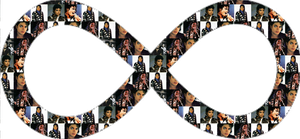 Michael JAckson Infinity PNG by InfinityEmily