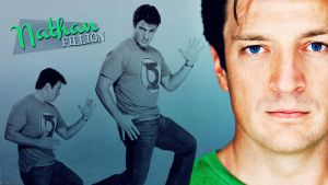Nathan Fillion - Geek God by GhostLinz