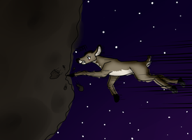 .:Sketch Commish:.The Art of Asteroid Annihilating by MysticalWhisper