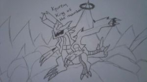 Kyurem, King of the Mountains- Contest Entry by KestrelStarYT