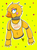 Toy Chica - Five Nights at Freddy's by CKittyKat98