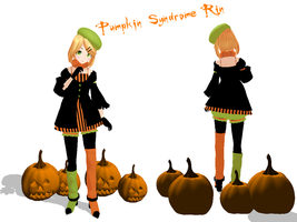 Motm- Pumpkin Syndrome Rin by cristle1235