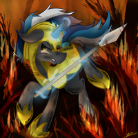 Little Fire by Hilis