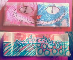 Monster Paper Wallet by Piggy911