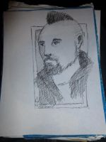 Don at Crypticon Quick Drawing by Poorartman
