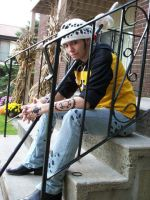 Trafalgar Law Cosplay by IceMagePathfinder