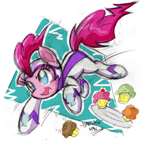The fastest mare alive!!! by DANMAKUMAN