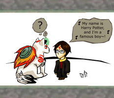 My name is Harry Potter... by Cherry-sama