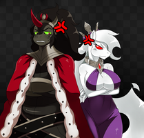King Sombra and Pandora by ss2sonic