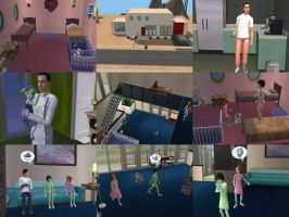 OMG teh PPG Sims by LadyKeane