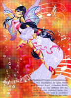 Fairy of Music by Galistar07water