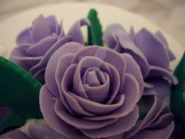 Fondant Rose by Anabelle1973