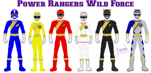 Power Rangers Wild Force by Ameyal