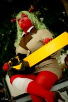 PASWG: Chainsaw!Scanty by mintdoggie