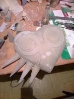 majora's mask wip 4 by herektor
