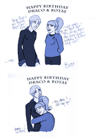 Tis Draco's and My Party YAY by Rotae