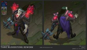 Blood Stone Taric by The-Bravo-Ray