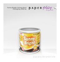 Sunny Bright Packaging by paperplay
